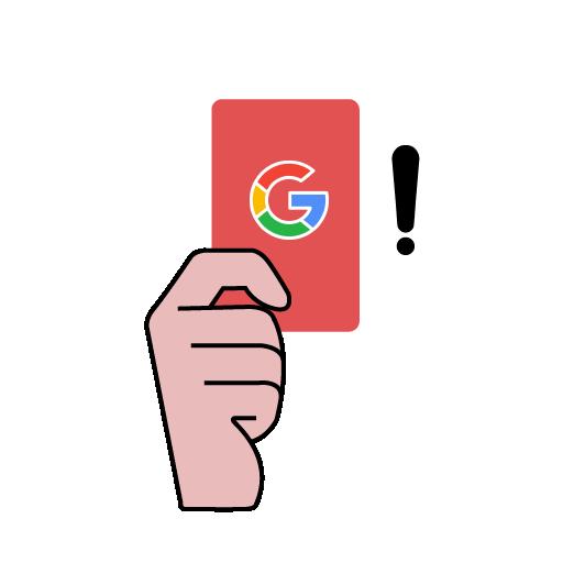 Наказания от Google